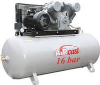 Стационарная поршневая компрессорная установка серии AirCast, Remeza, фото 1