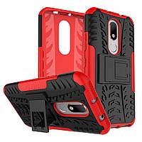 Чехол Armor Case для Motorola Moto M XT1662 / XT1663 Красный