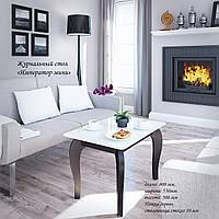 Стеклянный стол Император мини (журнальный) 80*55 см Сентензо