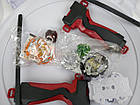 Beyblade набор - Арена с крышкой прочная, два Beyblade Ахилес и Волтраек Запускалки с двумя ручкам, фото 9