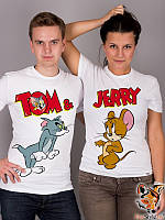 Парные футболки TOM end JERRY