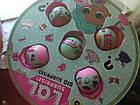 Золотой шар Кукла LOL Surprise в котором содержится 50 сюрпризов 38 см, фото 5