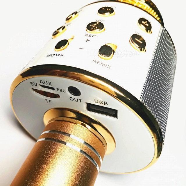 Радиомикрофон+ караоке Wster ws 858