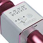 Караоке микрофон Q9 в чехле. Беспроводной, USB, MP3, фото 5