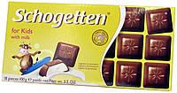 Шоколад молочный Schogеtten Per Bambini for kids (Детский) 100г.