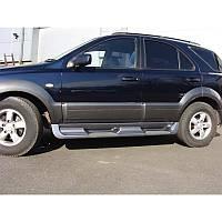 Пороги боковые Kia Sorento 2003-2007, фото 1