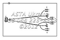 Проводка, фары и указатель поворота С1-3-1 на Hidromek 102B, фото 1