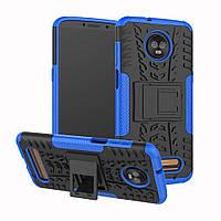 Чехол Armor Case для Motorola Moto Z3 Play XT1929 Синий