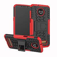 Чехол Armor Case для Motorola Moto Z3 Play XT1929 Красный