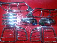 Хром пакет для Kia Sorento 2, Киа Соренто 2, 2009+