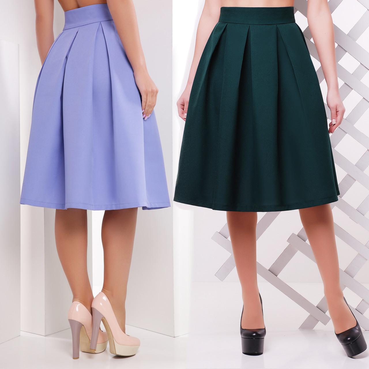 938d94750fc7 Женская юбка колокол миди длины