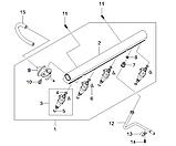 Регулятор давления топлива 2.0L, Леганза 1996 V100, 96184231, GM, фото 3