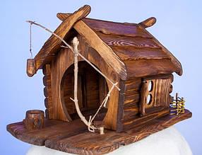 Кормушка-домик, скворечник для птиц
