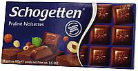 Шоколад молочный Schogеtten Praline Noisettes ( с Ореховой нугой) 100г.