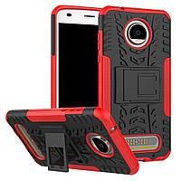 Чехол Armor Case для Motorola Moto Z2 Play XT1710 Красный