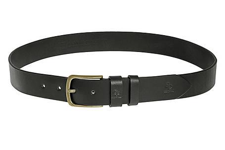 Кожаный ремень Classico Bronzo, чёрный , фото 2