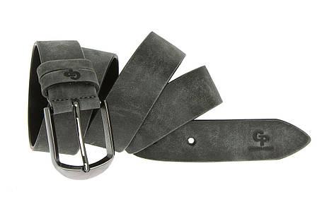 Кожаный ремень Labbro, серый мрамор, фото 2