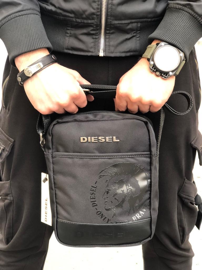 6ba62db5cbff Сумка мужская Diesel Black - Интернет-Магазин IMPERIAL STORE в Харькове