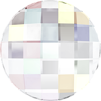 Кристаллы Swarovski клеевые холодной фиксации 2035 Aurore Boreale (AB) Swarovski, 10 мм, Австрия