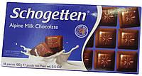 Шоколад молочный Schogеtten Alpine milk chocolate 100г.
