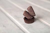 Бумажные одноразовые формочки для конфет, коричневые