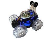 Радиоуправляемая машина перевёртыш мини LX9082 Cool Lamp с аккум. (синий)
