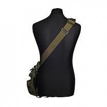 Тактическая плечевая сумка , фото 3