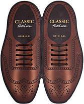 Силиконовые шнурки (антишнурки) для классических туфель , фото 3