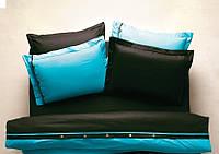 Постельное белье Karaca Home Solid бирюзовое ранфорс полуторное