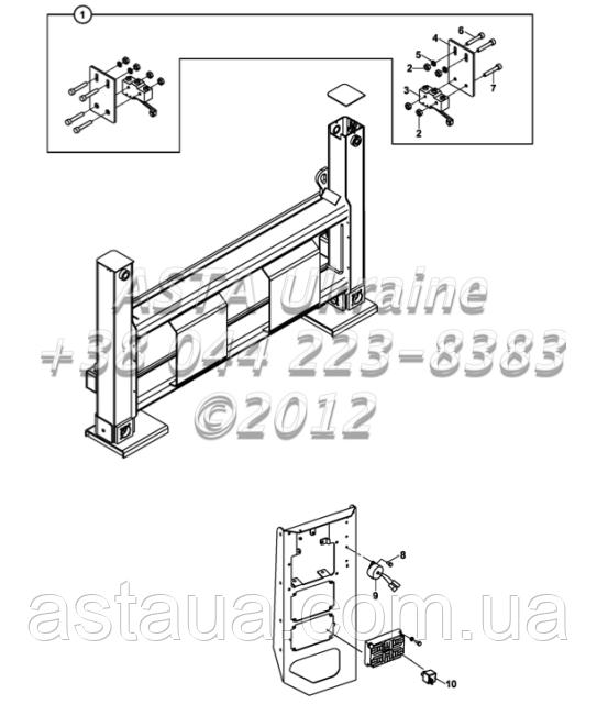 Стабилизатор переключатель в сборе, предупредительный сигнал, реле С1-5-1