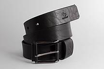 Кожаный Ремень Calvin, чёрный, фото 3