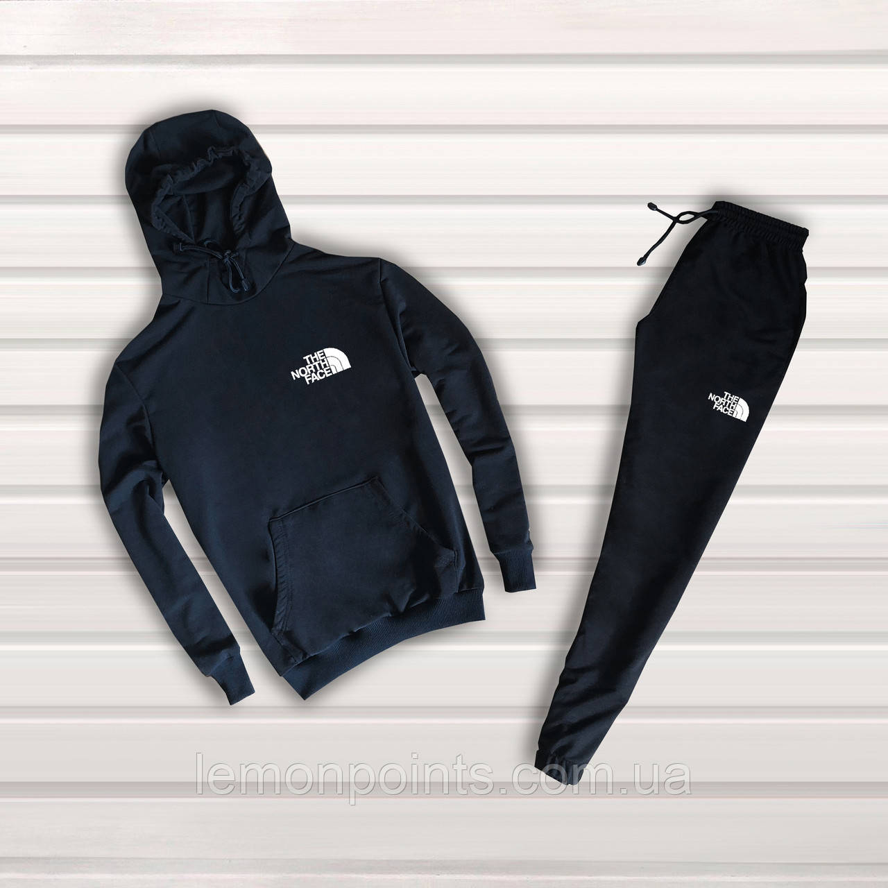 Спортивный костюм (худи+штаны), спортивний костюм The North Face S1072, Реплика