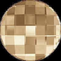 Стразы Swarovski клеевые холодной фиксации 2035 Golden Shadow (GSHA) Swarovski, 10 мм, Австрия