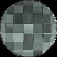 Камни Swarovski клеевые холодной фиксации 2035 Black Diamond (215) Swarovski, 6 мм, Австрия