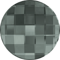 Камни Swarovski клеевые холодной фиксации 2035 Black Diamond (215) Swarovski, 14 мм, Австрия