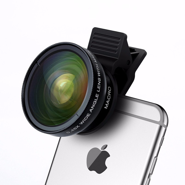 Съемный объектив для телефона/планшета 2 в 1 Turata