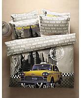 Постельное белье Karaca Home City - New York City стеганное полуторное