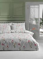 Постельное белье Tac ранфорс - Kaylee V01 розовое евро
