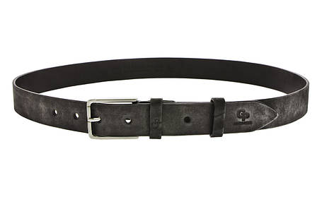 Кожаный ремень Rigoroso, серый мрамор, фото 2