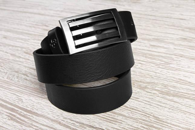 Кожаный ремень Intermedio, черный, фото 2