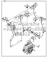Механизм контроля, грузчик - с рычагом управления Д1-1-1-ОР1
