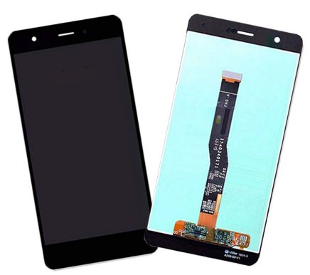 Дисплей (экран) для Huawei Nova CAN-L01 с сенсором (тачскрином) черный с микросхемой