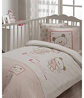 Детский набор - постельное с защитой в кроватку Karaca Home Stelle