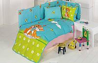 Набор в кроватку для младенцев Kristal Pati бирюзовый