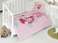 Набор в кроватку для младенцев Kristal Peri розовый