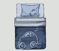 Постельное белье Maxstyle Little Car подростковое