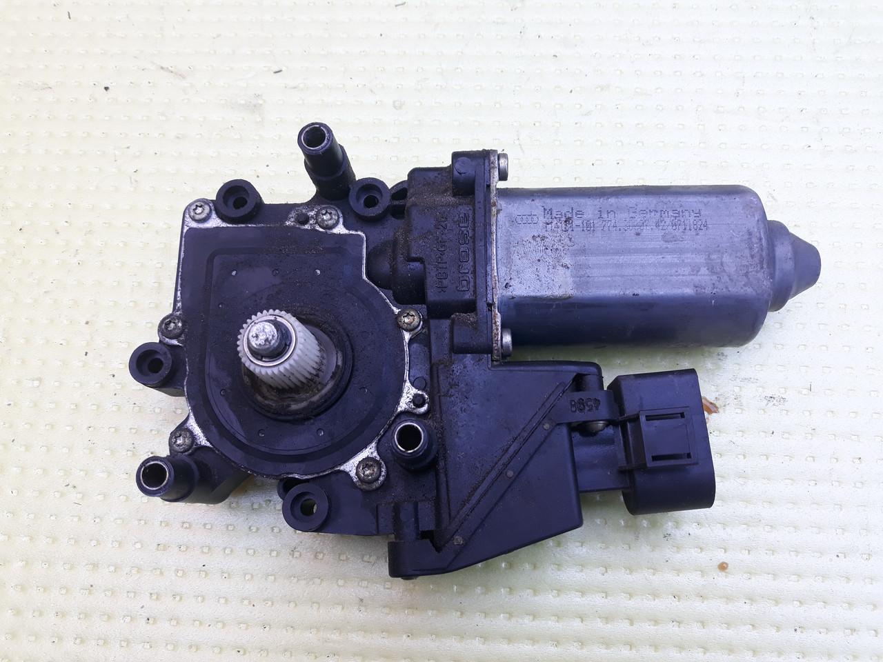 Моторчик стеклоподъемника передний левый водительский audi a6 c5 ауди а6 с5 4B0959801E