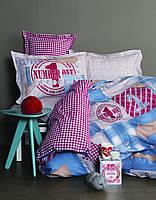 Детское постельное белье для подростков Karaca Home - Number one ранфорс