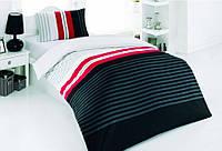 Постельное белье Kristal Sport черно белое подростковое