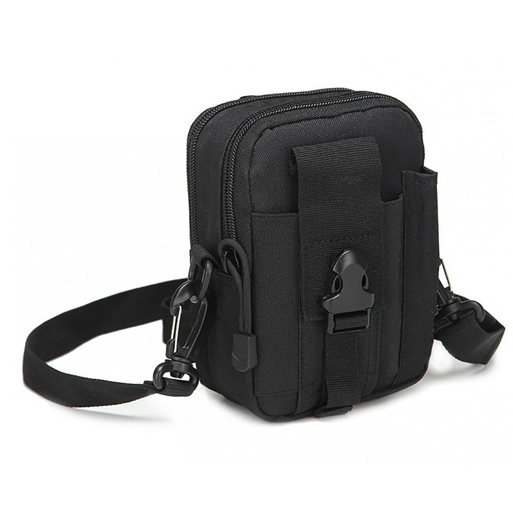 Тактическая (поясная) сумка - подсумок с ремнём с системой M.O.L.L.E